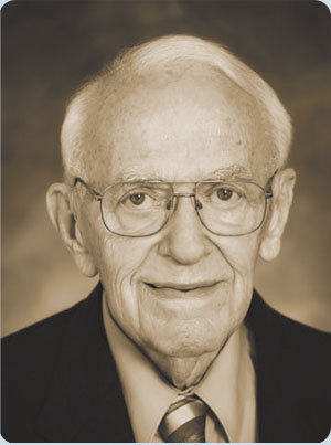 A photograph of Allan Nelson, the company founder
